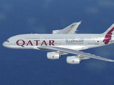 """""""Катар еъруейз"""" спря полетите до Саудитска Арабия, ОАЕ, Бахрейн и Египет"""
