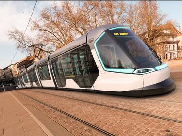 Иновативен трамвай на Peugeot и Alstom свързва Франция и Германия