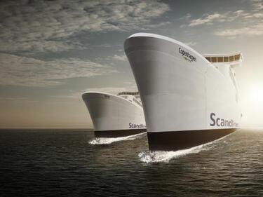 Спряха фериботите между Дания и Германия