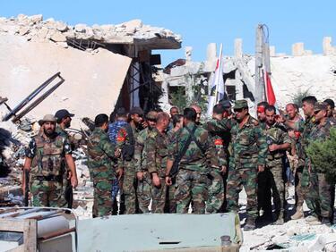 """Започна битката за бастиона на """"Ислямска държава"""" в Сирия"""