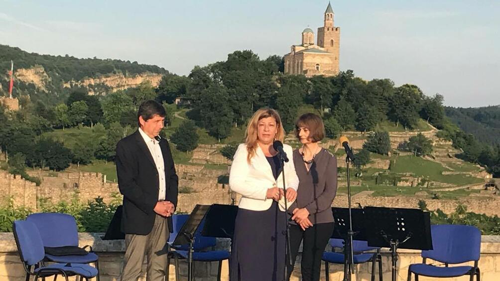 Виенска класика огласи средновековната крепост Трапезица във Велико Търново. С