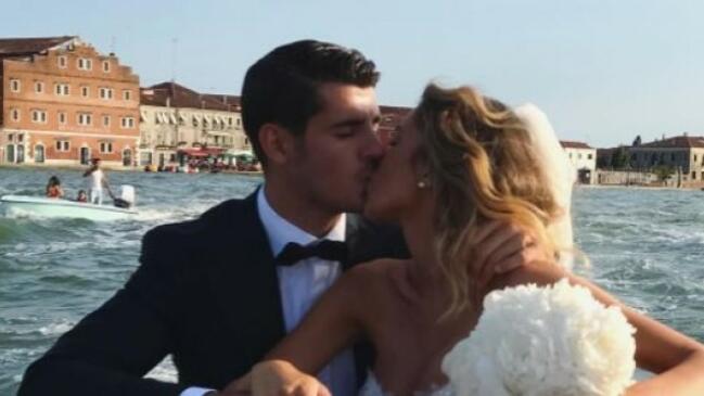 """Звезда на """"Реал"""" вдигна приказна сватба във Венеция (СНИМКИ/ВИДЕО)"""