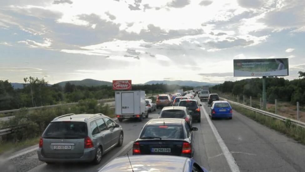 Увеличен етрафикът на автомобили от Гърция към България през ГКПП