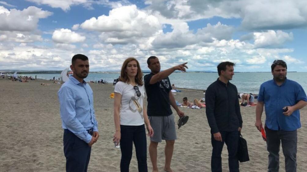 Новият наемател на морски плаж