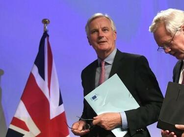 Лондон и Брюксел поставиха 3 основни теми като условие за Брекзит