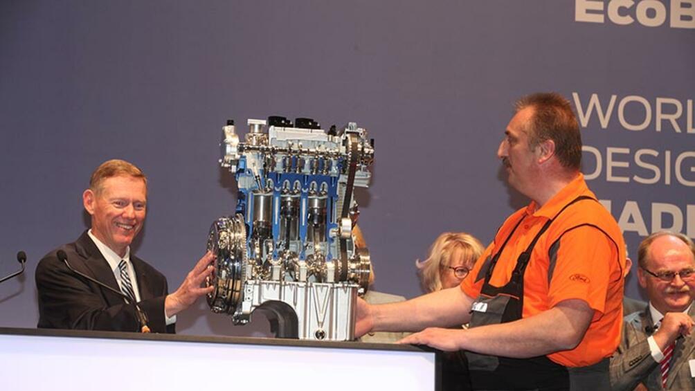 1-литровият EcoBoost на Ford бе избран за Световен двигател на