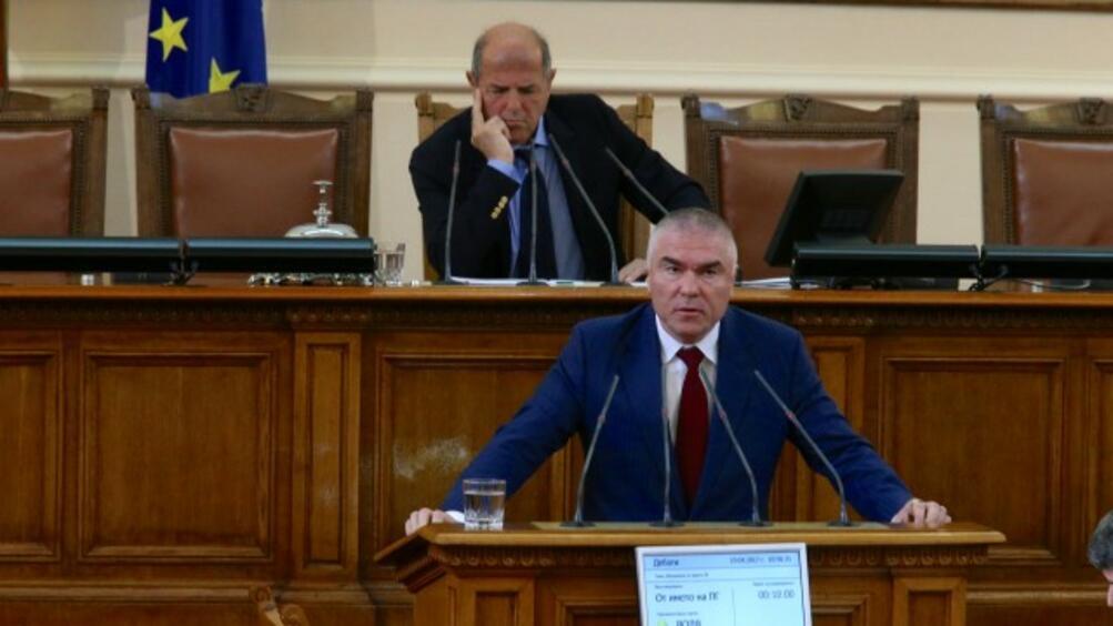 Главният прокурор СотирЦацаров поиска имунитета на зам.-председателя на парламента и