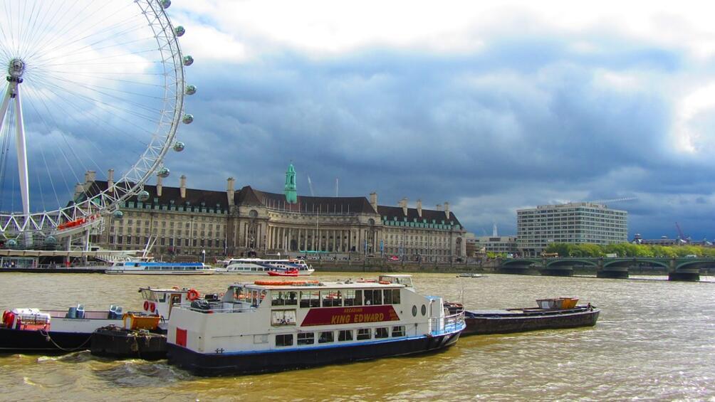 Снимка: Паника в Лондон заради бомба от Втората световна