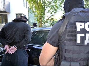 """Полицейска спецакция на столичния бул. """"Витоша"""""""