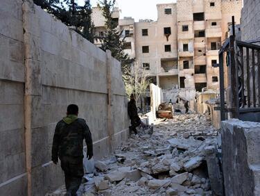 """""""Ислямска държава"""" се изтегли от Алепо"""