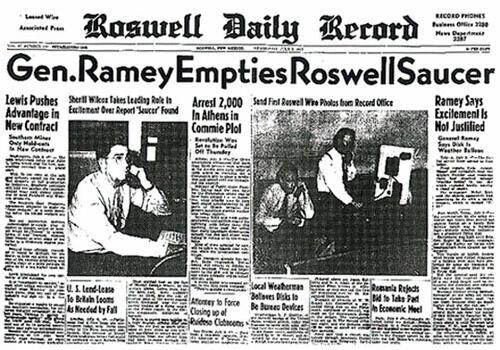 """В Световния ден на НЛО: Да си спомним мистерията """"Розуел"""""""