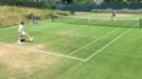 Мъри и Гришо тренират технични удари преди Уимбълдън (ВИДЕО)