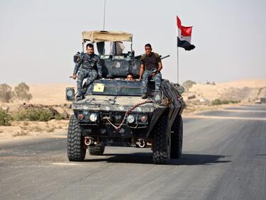 """Ирак победи """"Ислямска държава""""! Мосул е свободен"""