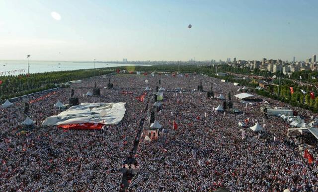 Турция се отърси от страха! 2 милиона протестираха в Истанбул срещу Ердоган (ВИДЕО)