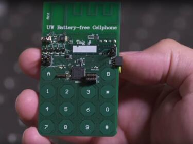 Пробив в технологиите: Смартфон без батерия (СНИМКИ/ВИДЕО)