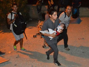 Бежански бунт на Лесбос