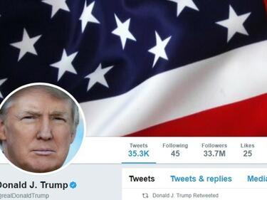Американци съдят Тръмп за погазване на свободата на словото