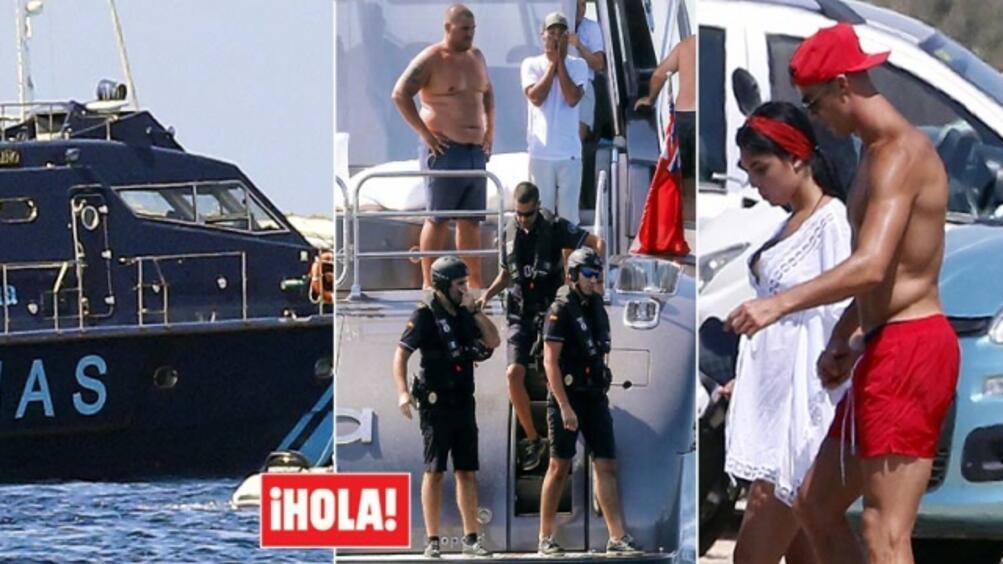 Испанските данъчни власти направиха изненадваща проверка на яхтата на Кристиано