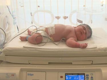 Лекар: Бебетата гиганти имат проблем - затлъстяване