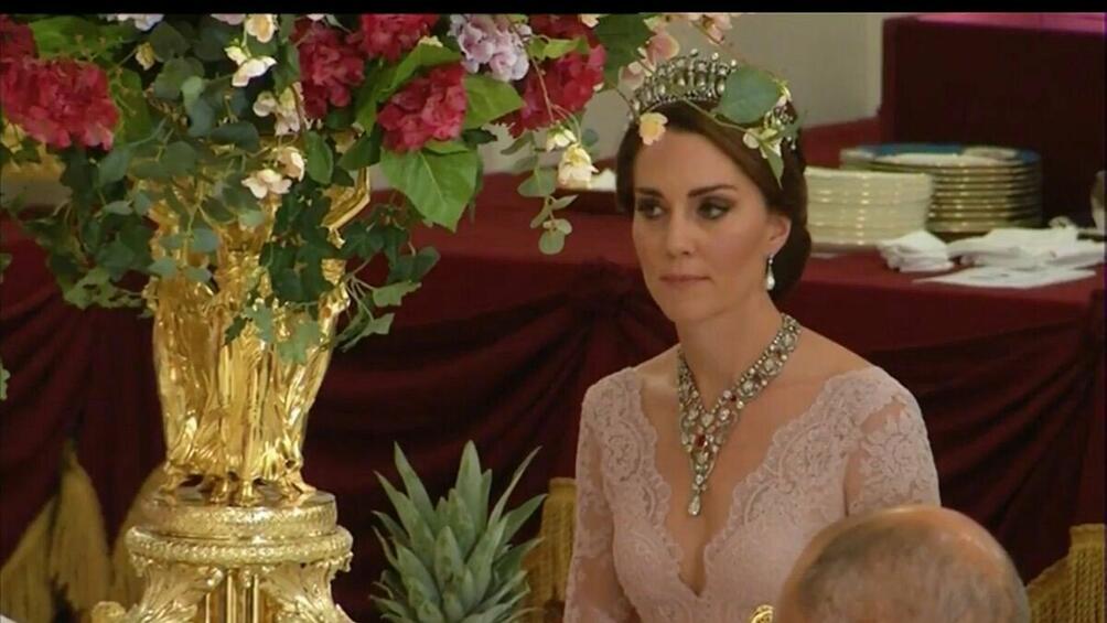Ах, тази Кейт!Херцогиня Катринотново се превърна в звездата на вечерта