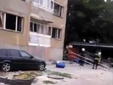 Кола с газова уредба се взриви в гараж в Добрич