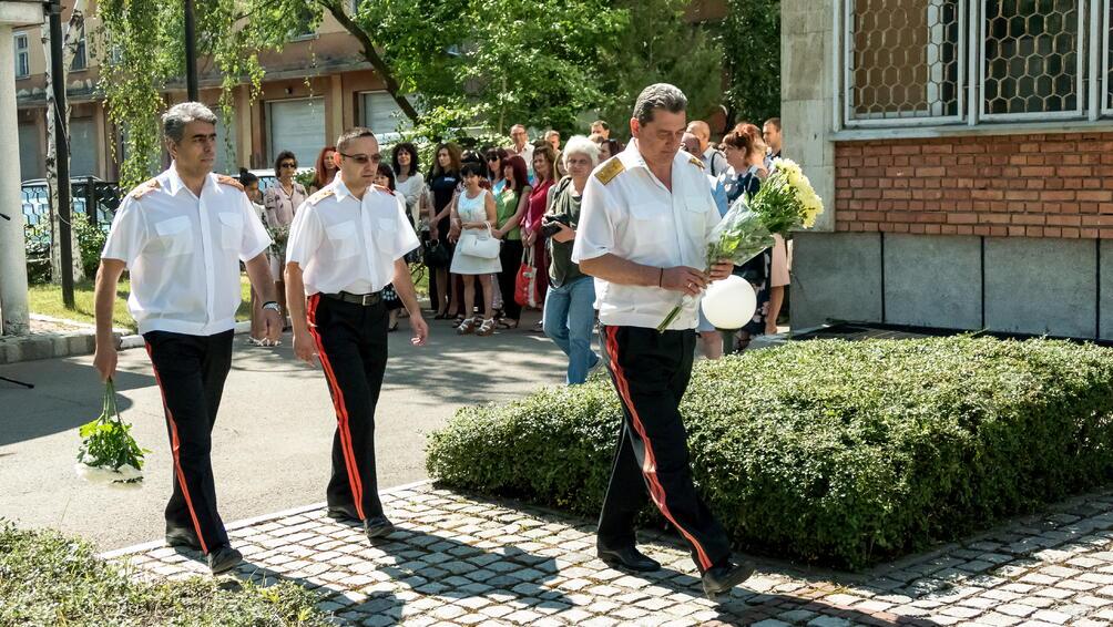 За поредна година българските пожарникари отбелязаха деня на своя закрилник