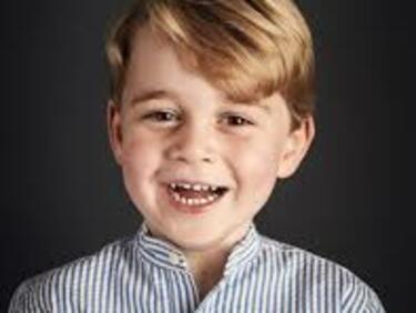 Британският принц Джордж навърши 4 години (СНИМКА)