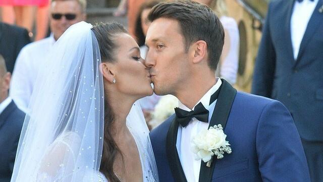 Тенис звездата Агниешка Радванска вдигна сватба (СНИМКИ)