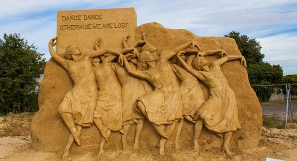 10-ти Фестивал на пясъчните скулптури в Бургас (СНИМКИ)