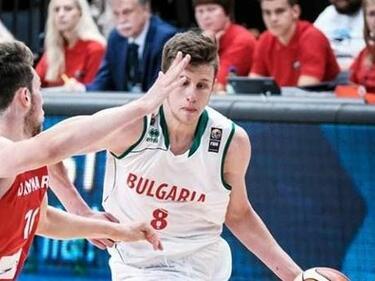 Наш баскетболист в идеалния отбор на Европа