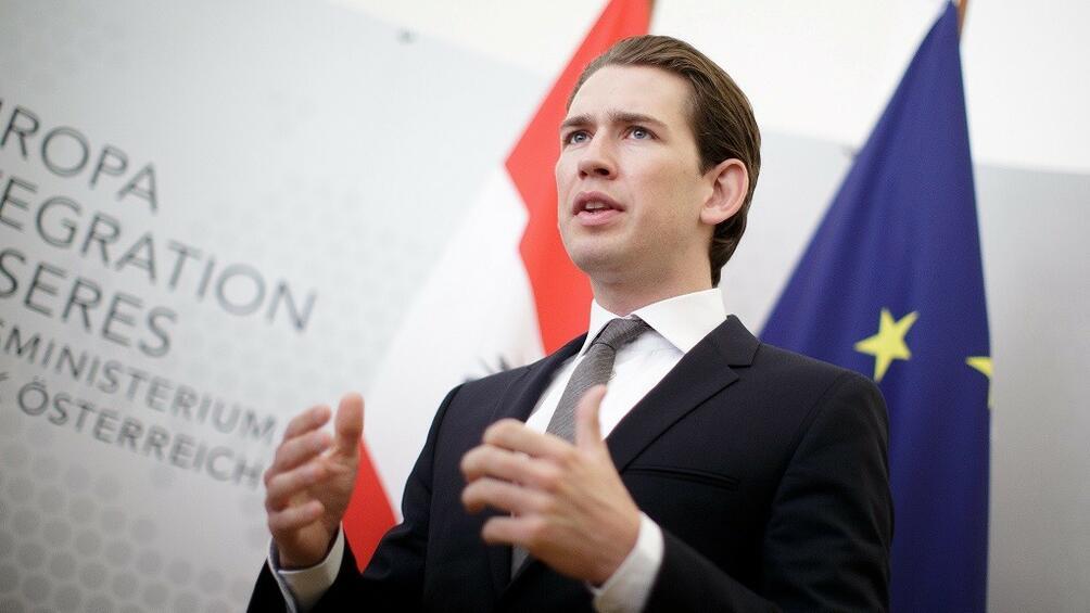 Настоящият външен министър на Австрия Себастиан Курц е най-вероятният нов