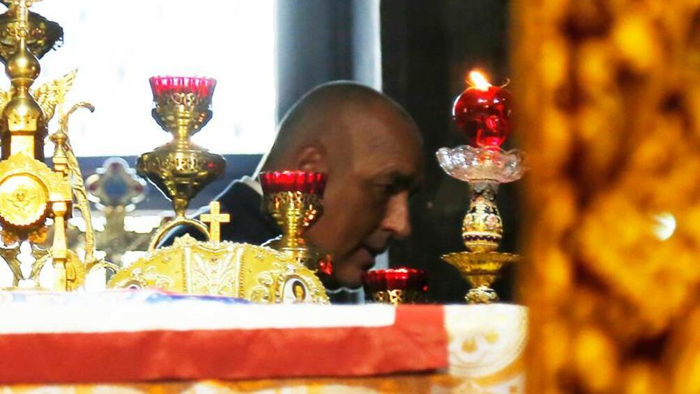 На връх големия християнски празник Успение Богородично лидерът на ГЕРБ