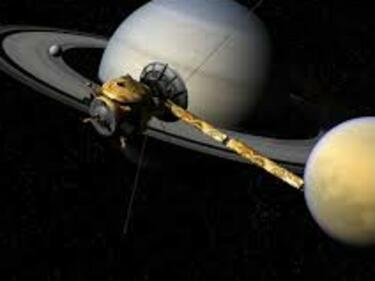 Финално спускане на сондата Касини в атмосферата на Сатурн