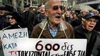 Гърците осъмнаха с драстично орязани пенсии