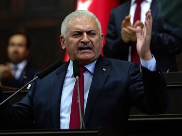 Бинали Йълдъръм: Германия да си гледа работата и да не се меси на Турция
