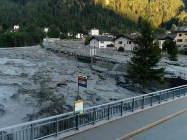 Глобалното затопляне причинило адското свлачище в Швейцария