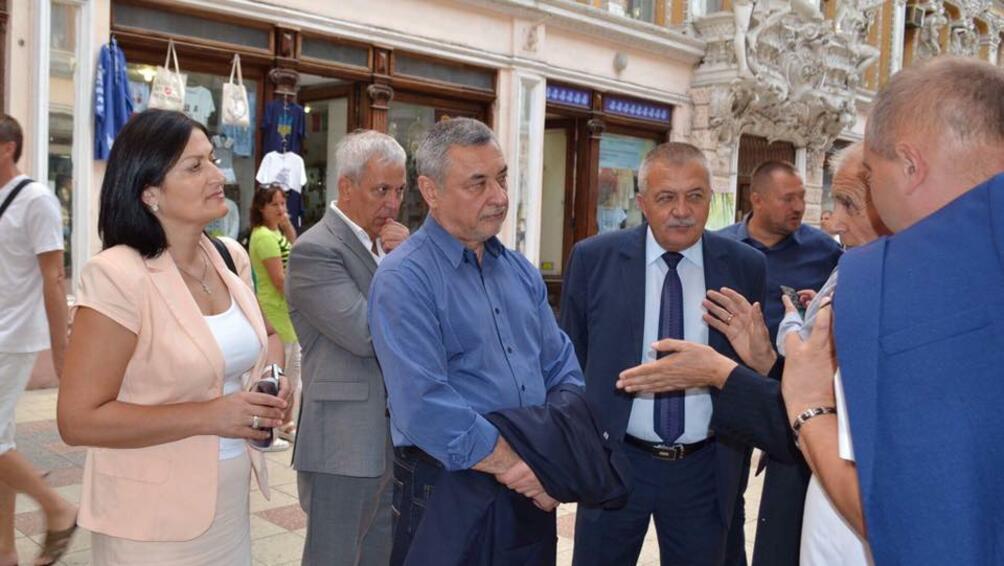 Българска правителствена делегация начело с вицепремиера Валери Симеонов посети Украйна