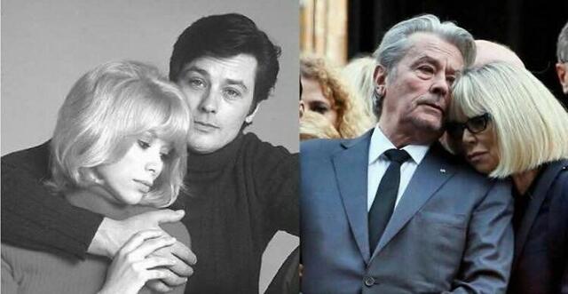 Почина голямата любов на Ален Делон