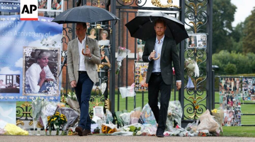 Принцовете Уилям и Хари почетоха паметта на майка си принцеса