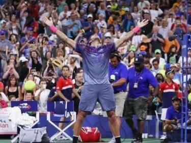 Дел Потро направи уникален обрат на US Open