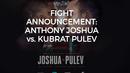Официално: Кобрата срещу Джошуа в спор за IBF на 28 октомври в Кардиф