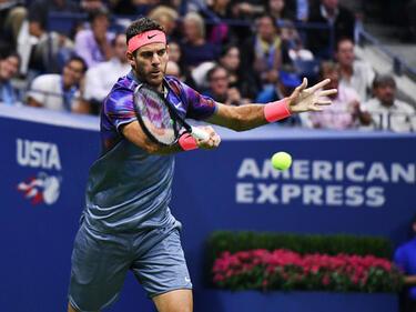 Поредна сензация на US Open! Дел Потро отстрани Федерер