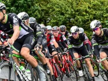 Адски гаф на велообиколката на Британия причини кървав инцидент (ВИДЕО)