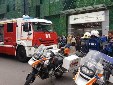Телефонен тероризъм блокира Москва! Над 20 000 души евакуирани (СНИМКИ/ВИДЕО)