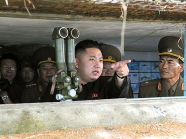 Северна Корея мести ракетни установки