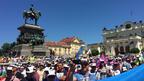 "Работници от ""Емко"" пред парламента, БСП им яха протеста"