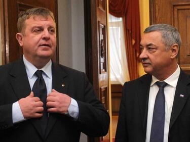 Каракачанов опроверга Симеонов: Коалицията не скърца