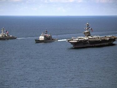 САЩ и Япония демонстрират военна мощ до Корейския полуостров