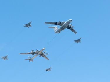 Русия показа как удря терористите в Сирия (ВИДЕО)