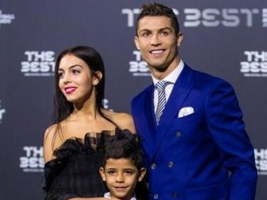 Разкриха пола на бебето на Кристиано Роналдо